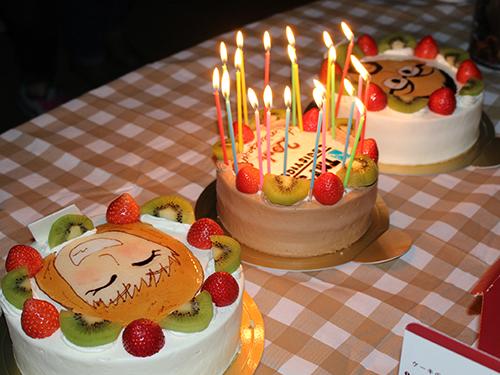20周年特別ケーキ