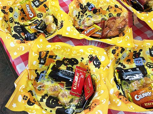 ハロウィンなお菓子コーナー