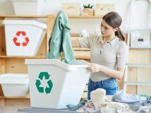 アパレル衣料のリサイクル